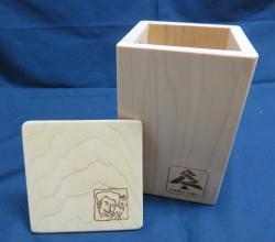 青森ひばの小箱(縦型)