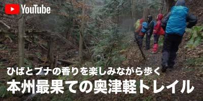 ひばとブナの香りを楽しみながら歩く 本州最果ての奥津軽トレイル