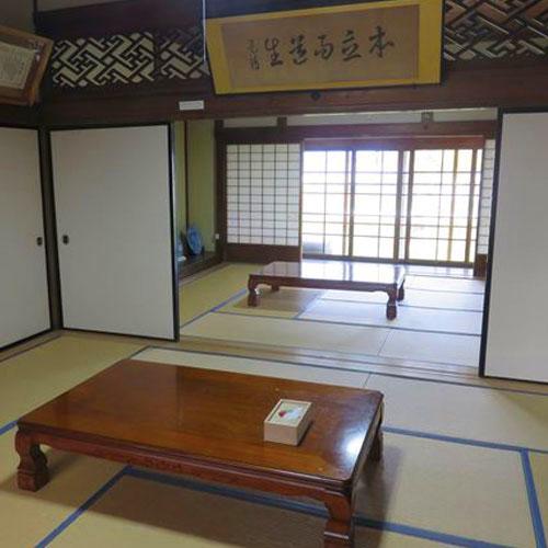 宿泊室は2部屋